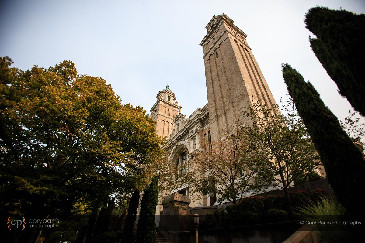 St. James Cathedral in Seattle