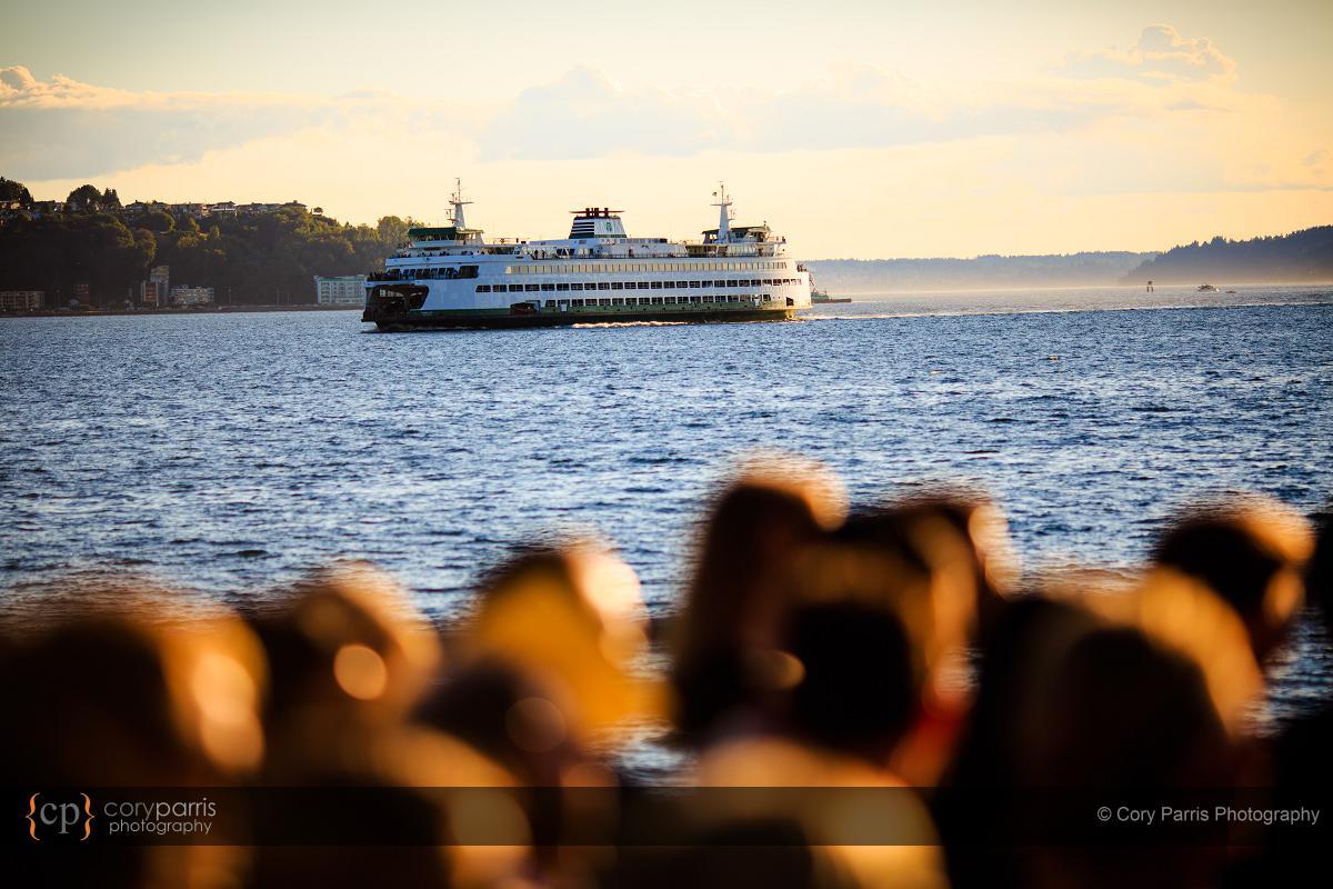 Look! It's a ferry!