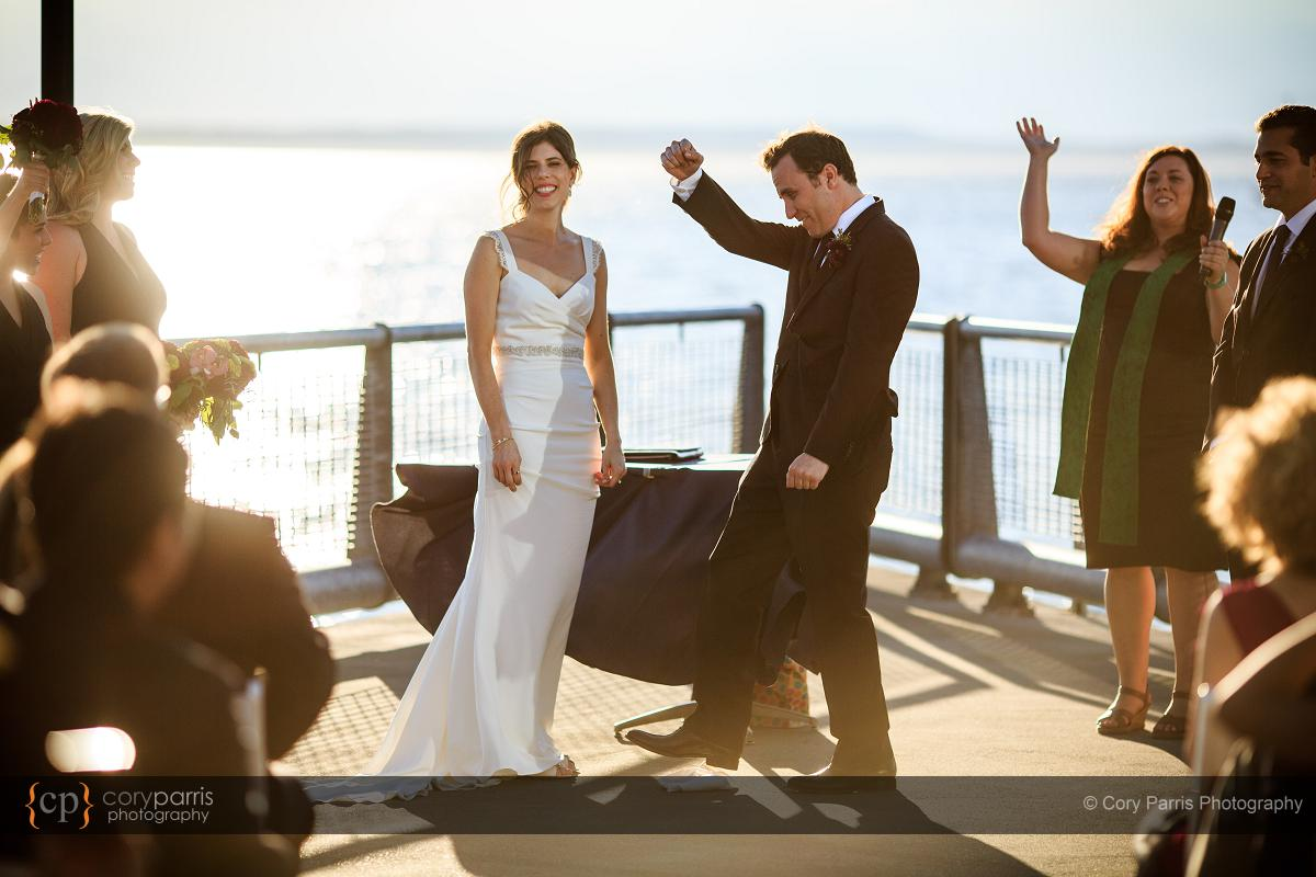 Wedding victory!