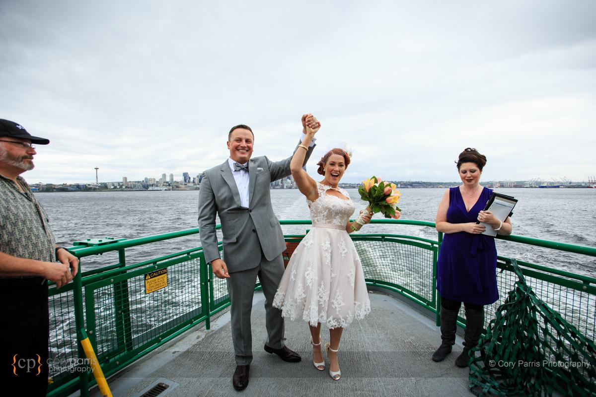 Victory and a wedding!
