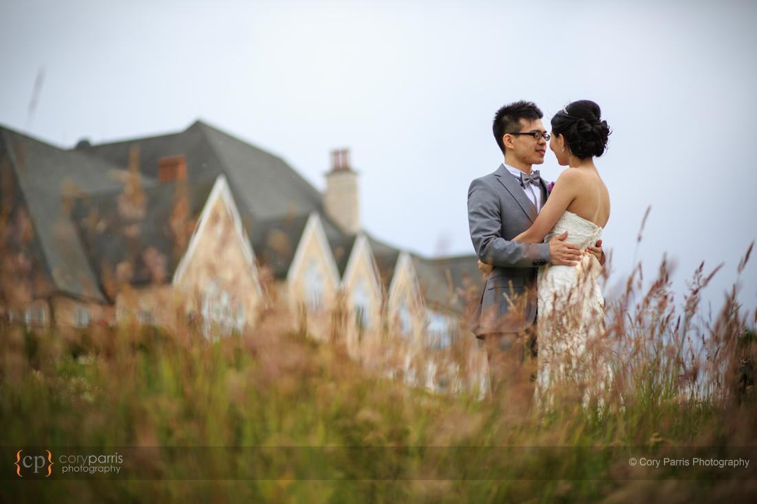 wedding portrait newcastle golf club