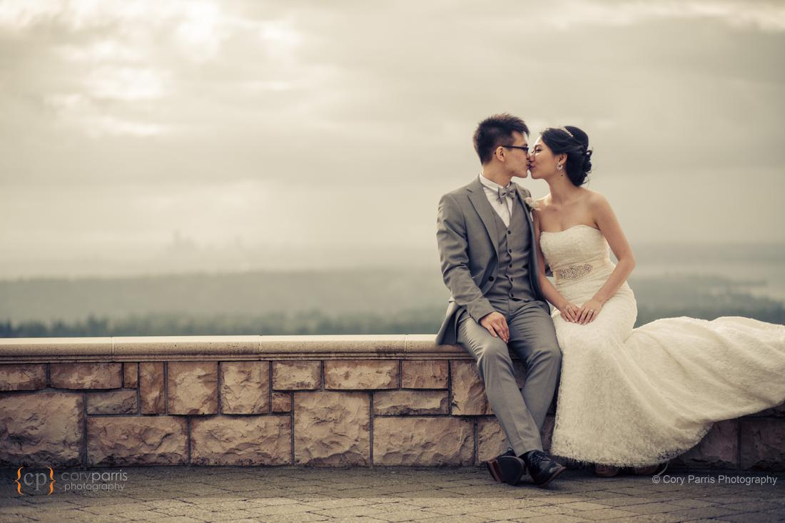 couple portrait newcastle wedding