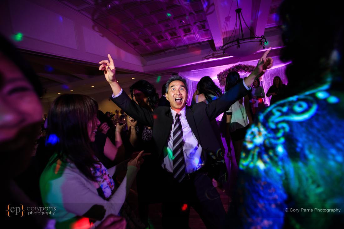 Newcastle wedding reception