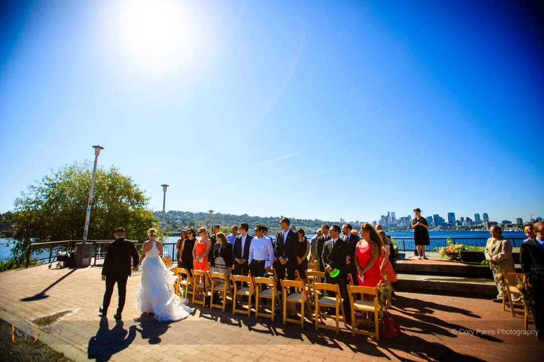 Gas Works Park Wedding