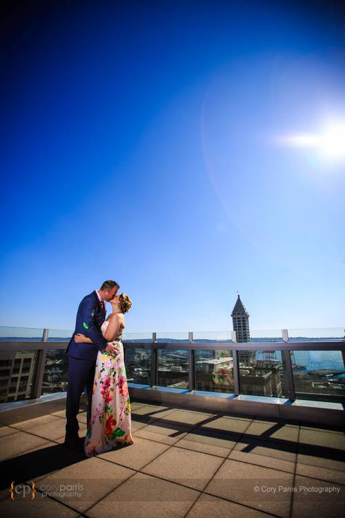 Seattle Municipal Courthouse wedding