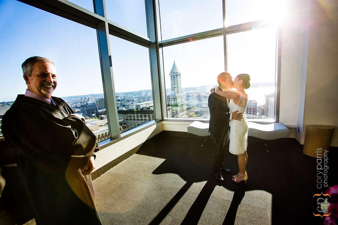 Seattle Municipal Courthouse Wedding
