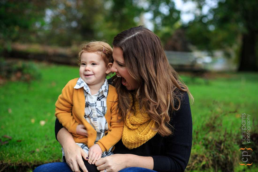 Family portraits at Seattle Arboretum