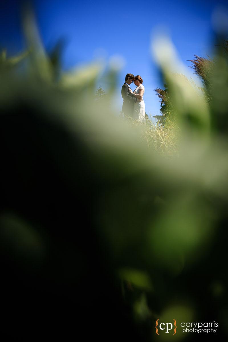 Wedding portrait in Redmond