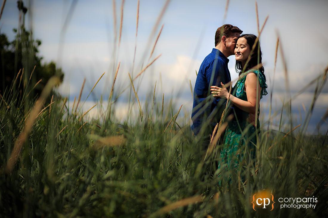 Lincoln Park Engagement Portrait