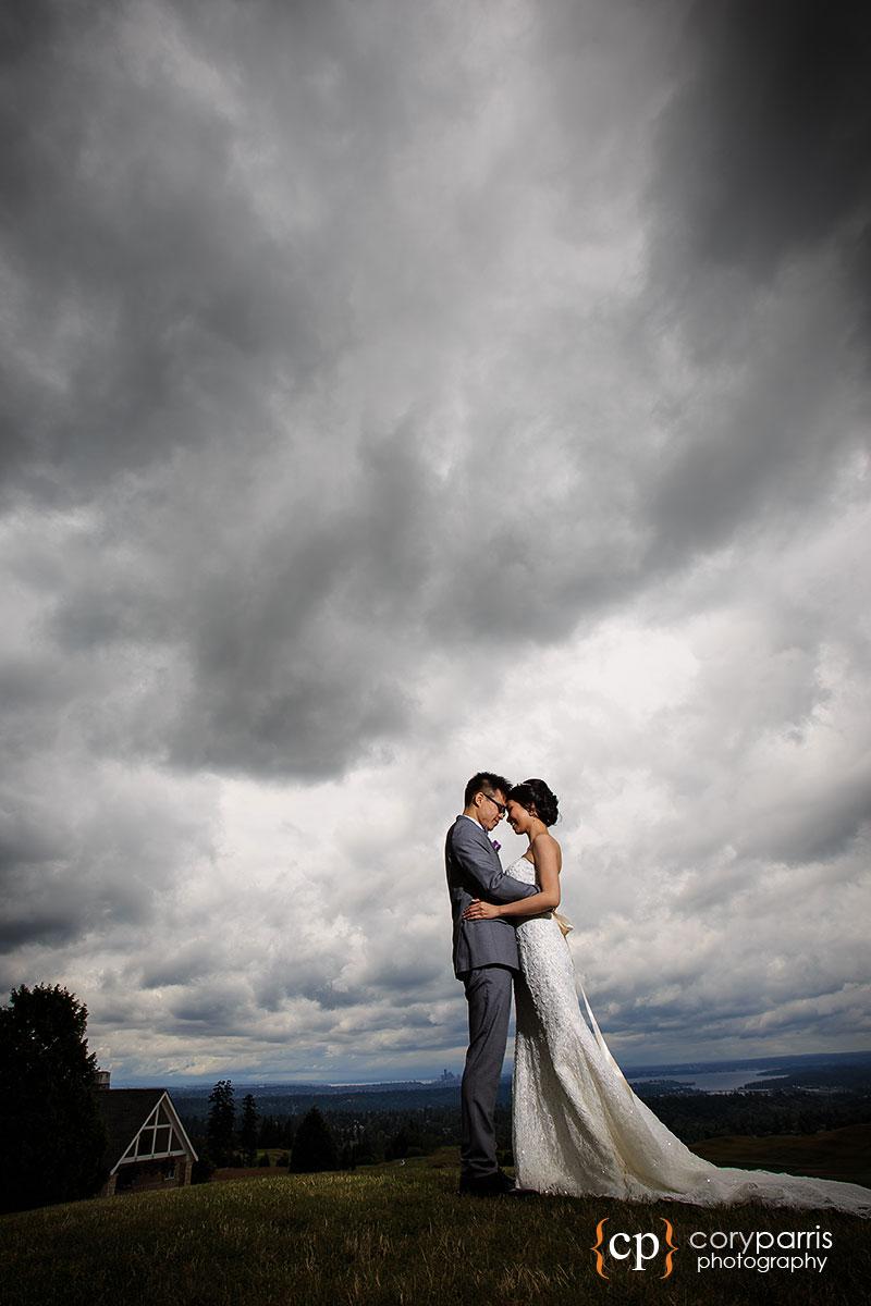 The Golf Club at Newcastle wedding portrait