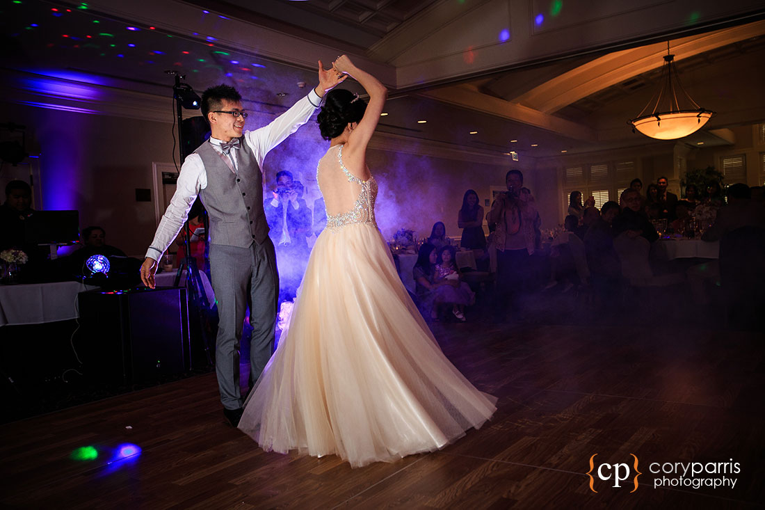 First dance at the Golf Club at Newcastle
