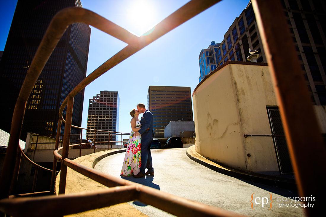 wedding portrait in Seattle