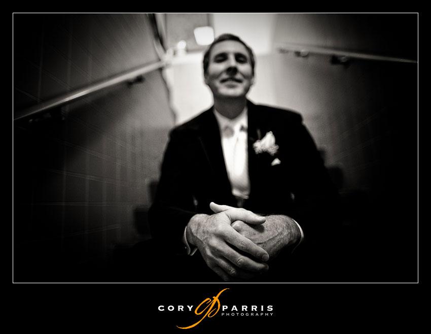 groom hand portrait
