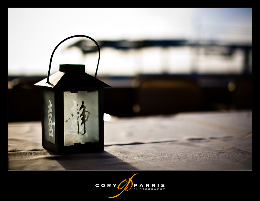 lantern with Japanese characters