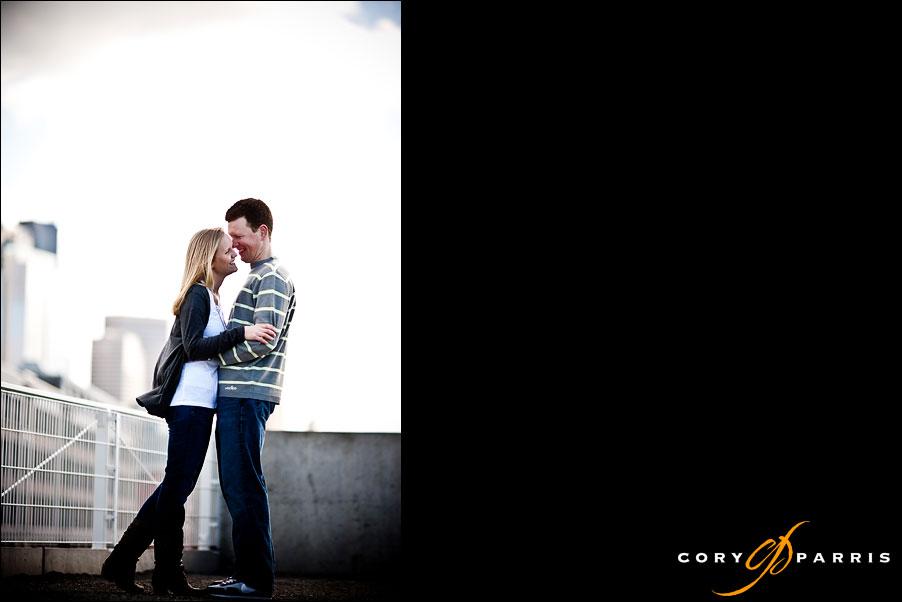 couple portrait by seattle engagement portrait photographer cory parris