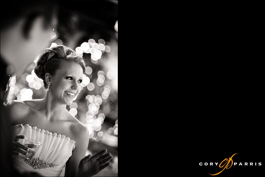 candid portrait of a bride by seattle wedding photographer cory parris