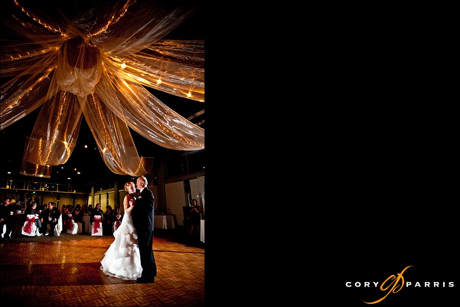 bride and father dance by seattle wedding photographer cory parris