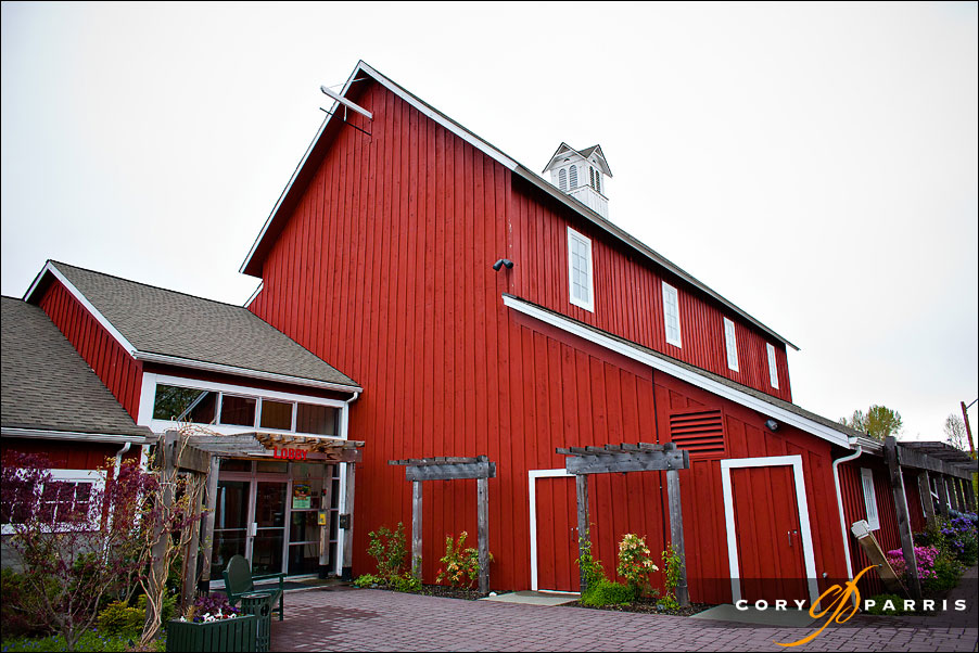 Pickering Barn in Issaquah before the wedding
