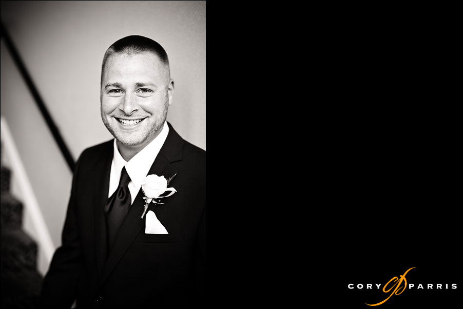 portrait of groom by seattle wedding photographer cory parris