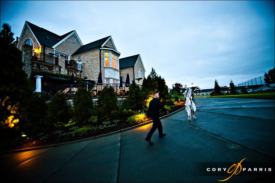 newcastle golf club wedding image