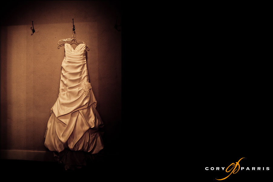 wedding dress by seattle wedding photojournalist cory parris