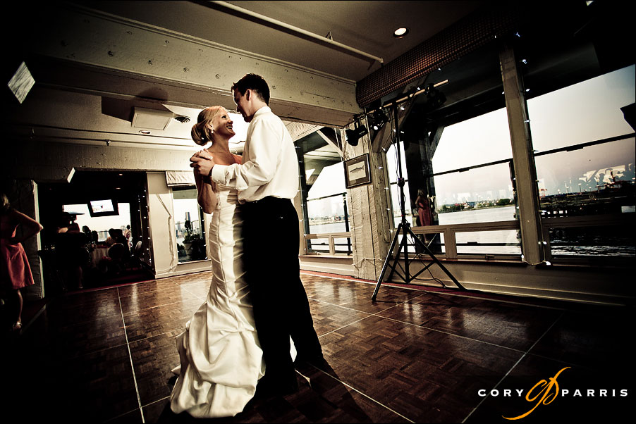 bride and groom during first dance by seattle wedding photojournalist cory parris
