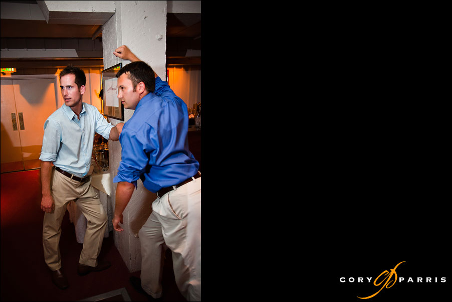 wedding guests dancing by seattle wedding photojournalist cory parris