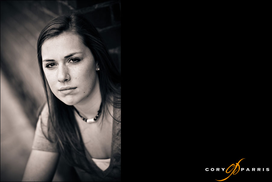 senior portrait of a girl by seattle portrait photographer cory parris