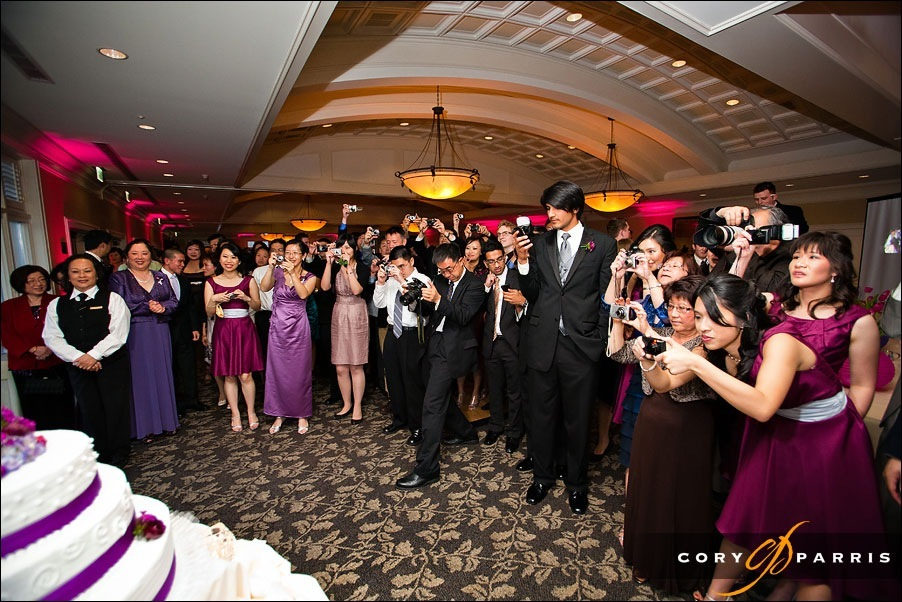 attack of the wedding cameras by seattle wedding photographer cory parris
