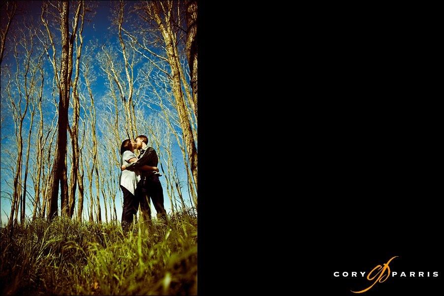 engagement portrait at golden gardens by seattle wedding photographer cory parris