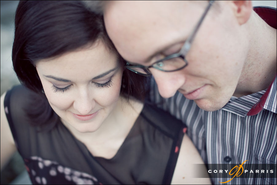 engagement portrait at the seattle waterfront by the olympic sculpture park by seattle wedding photographer cory parris