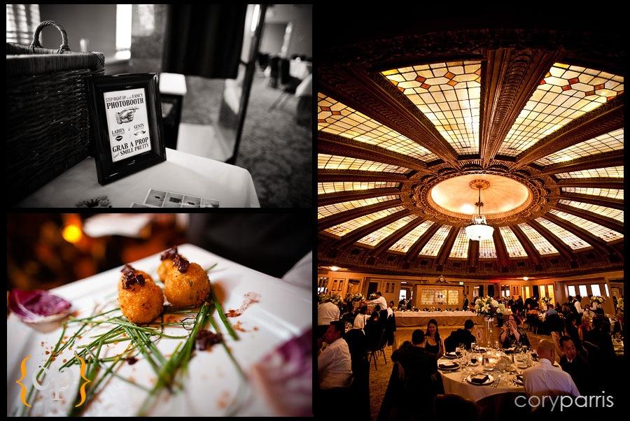 Wedding reception at Arctic Club