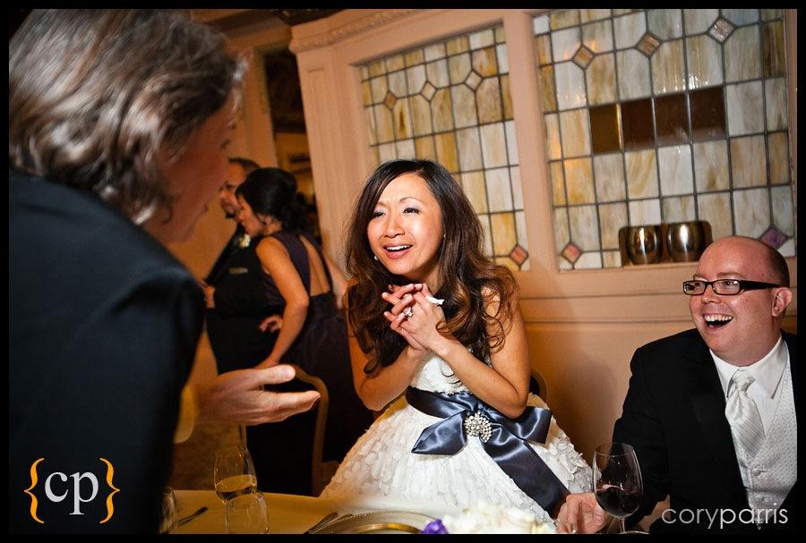 Arctic Club wedding reception