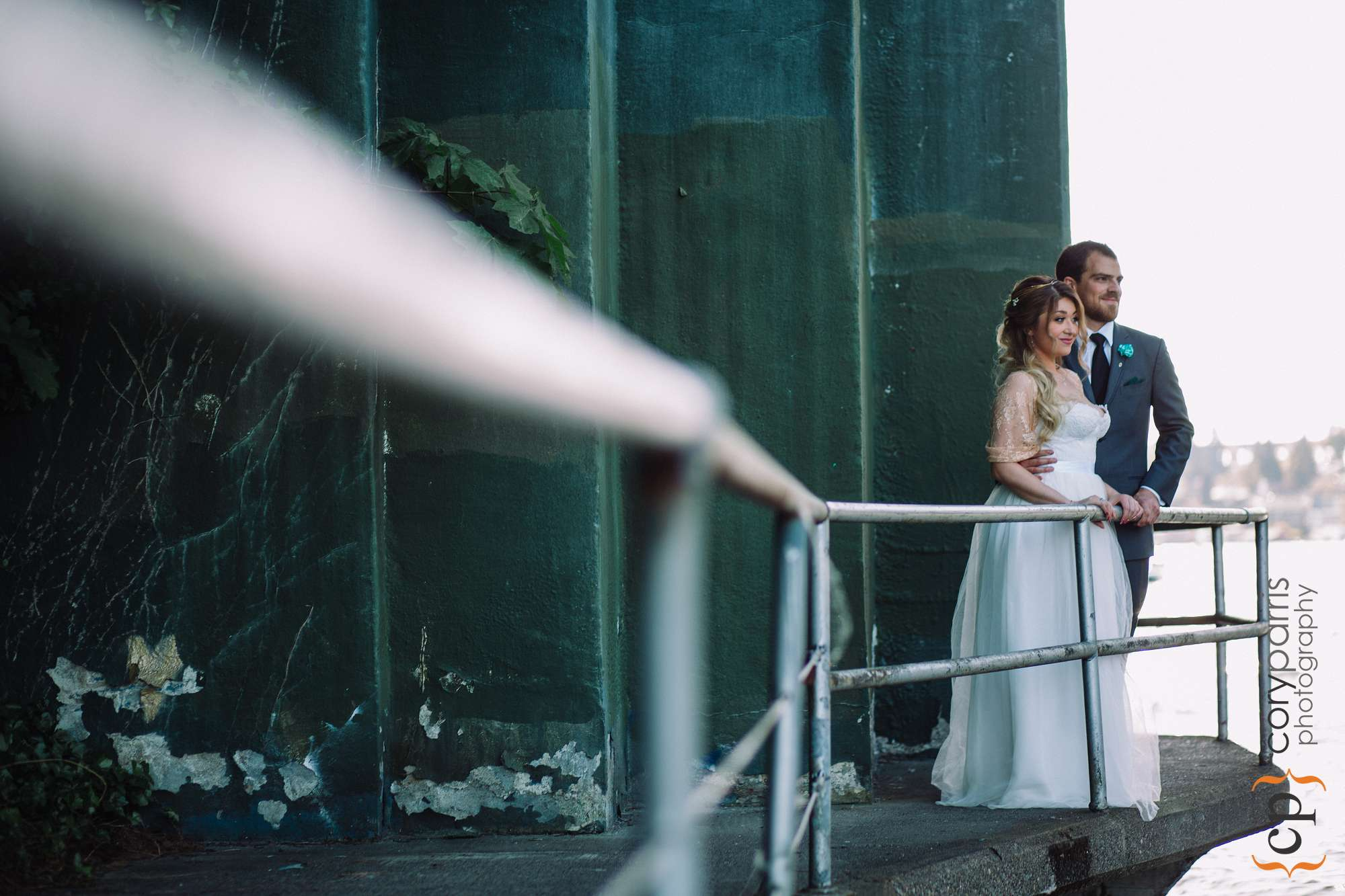 Wedding photography at South Passage Park
