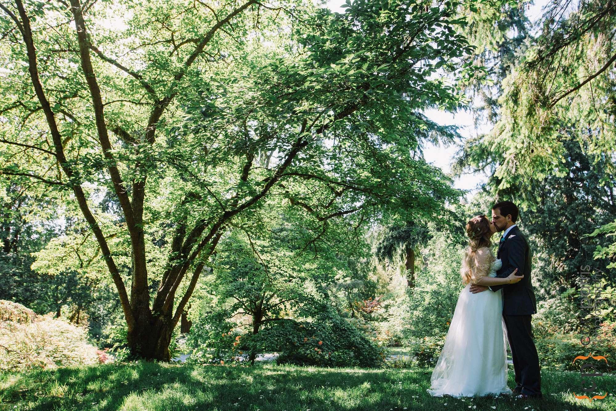 Washington Park Arboretum wedding