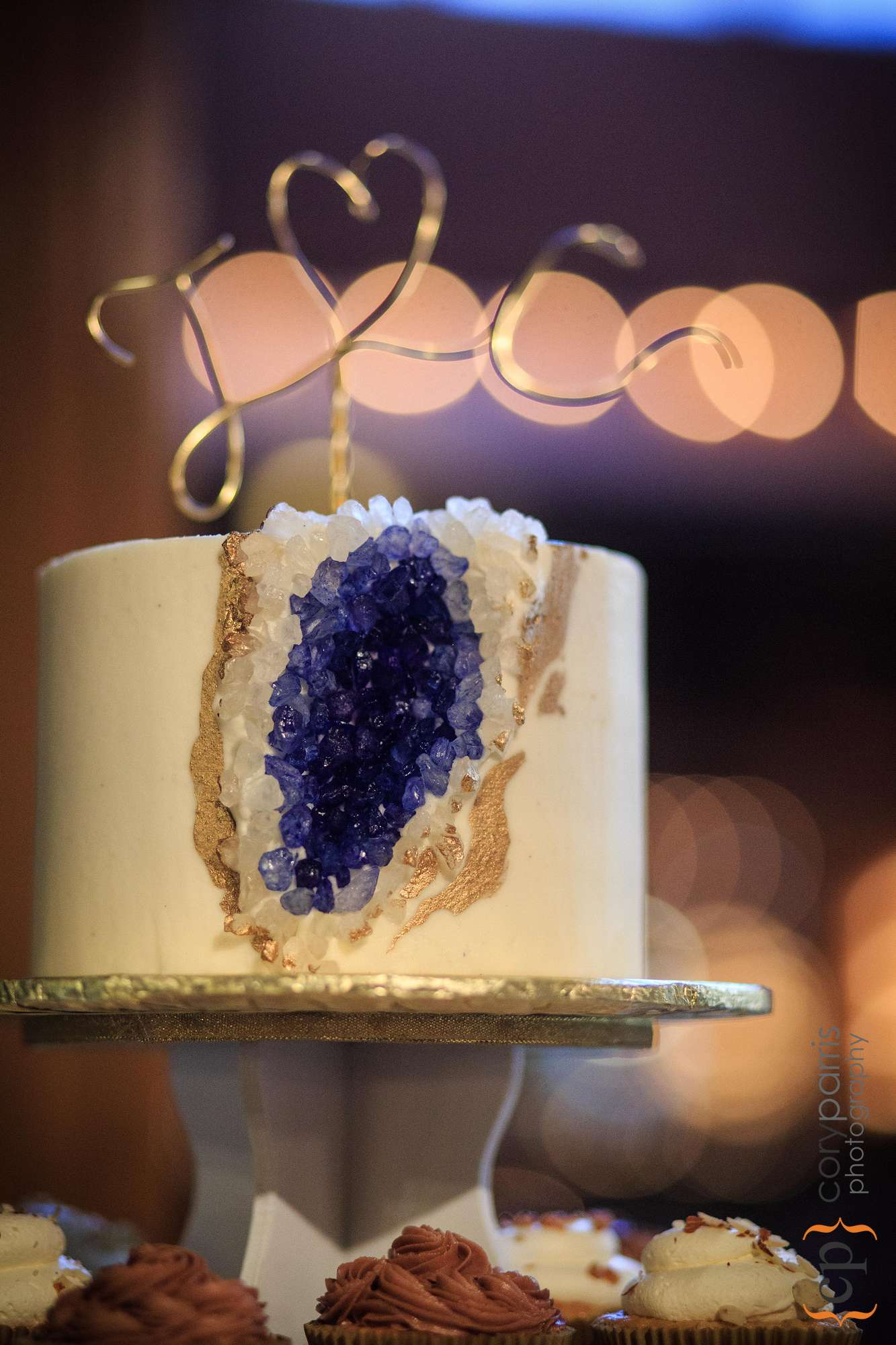geological wedding cake