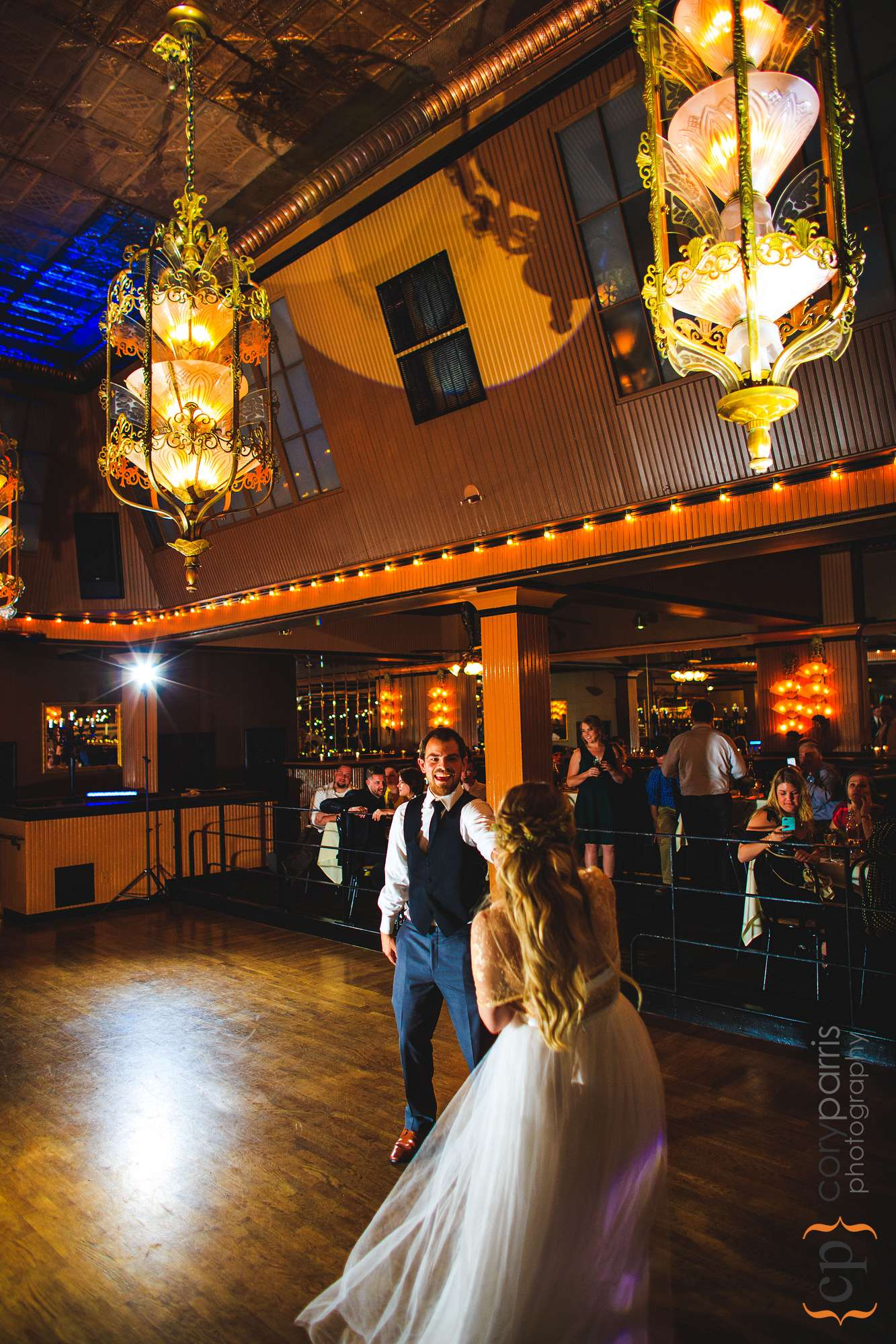 first dance at lake union cafe