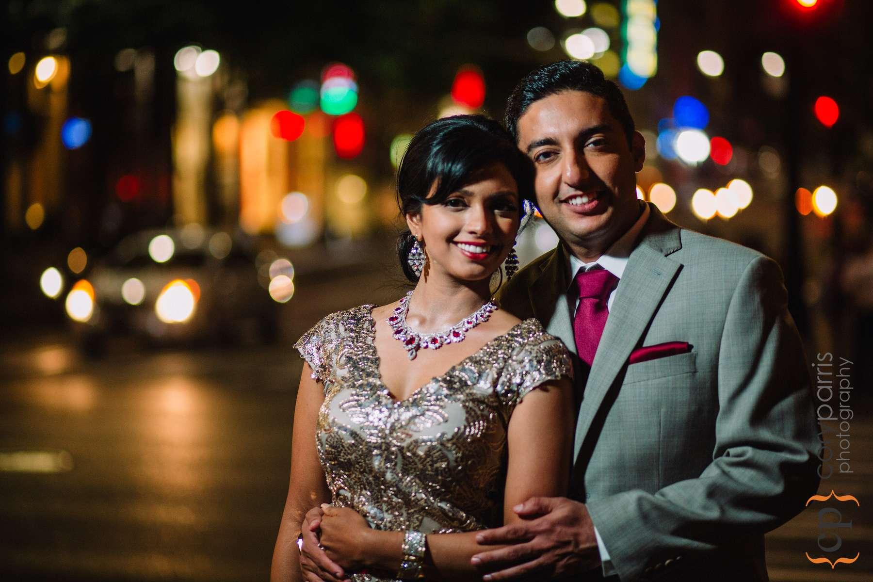night indian seattle wedding photography