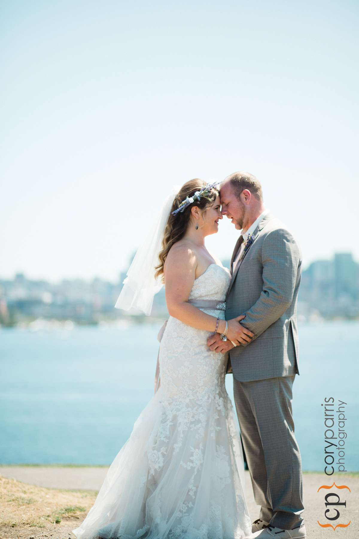 Wedding photography at Gas Works Park