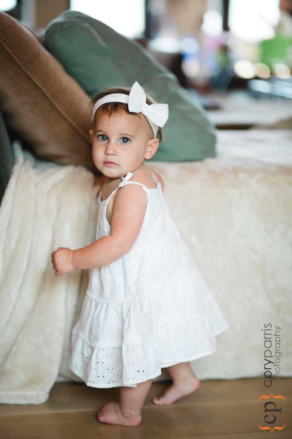 Cute baby portrait.