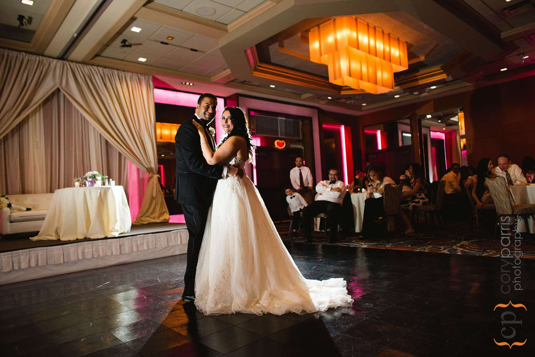 First dance at the Bellevue Club