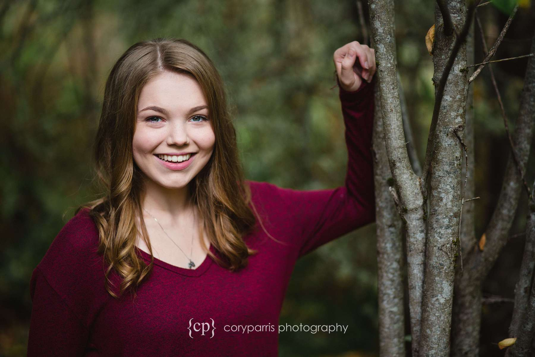 Katie's senior portraits at the Paradise Valley Conservation Area.