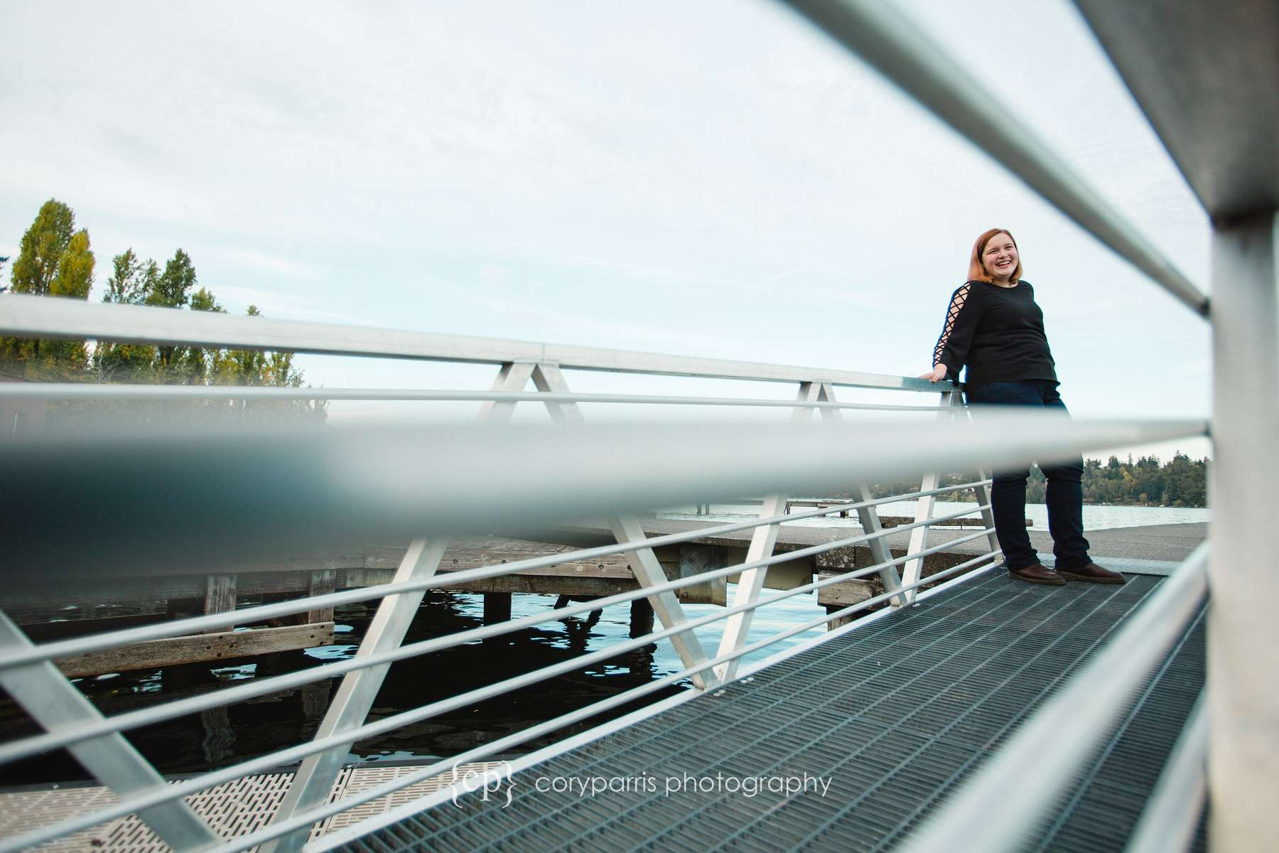 Dock portrait photographer Mercer Island