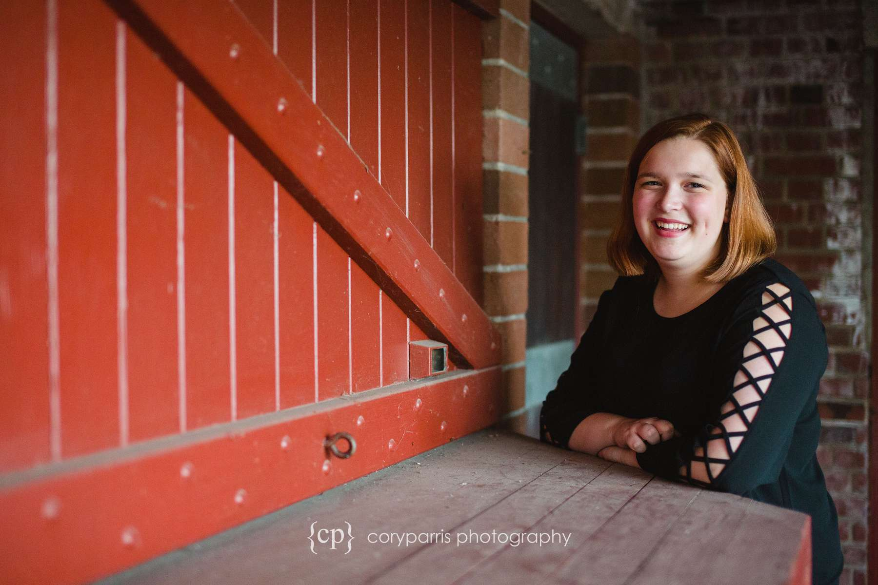 Senior portraits at Mercer Island