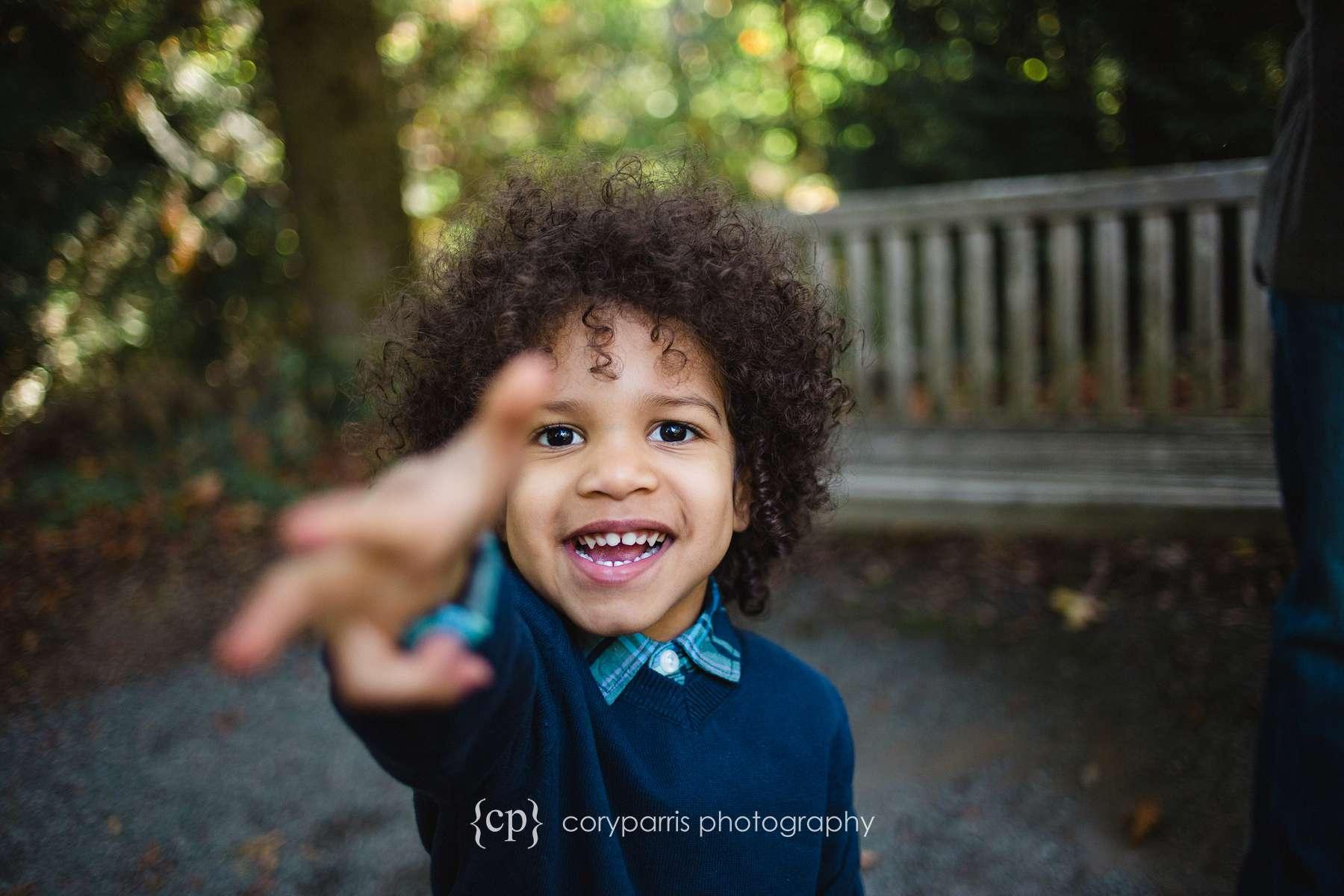 Family and child portrait photographer bellevue