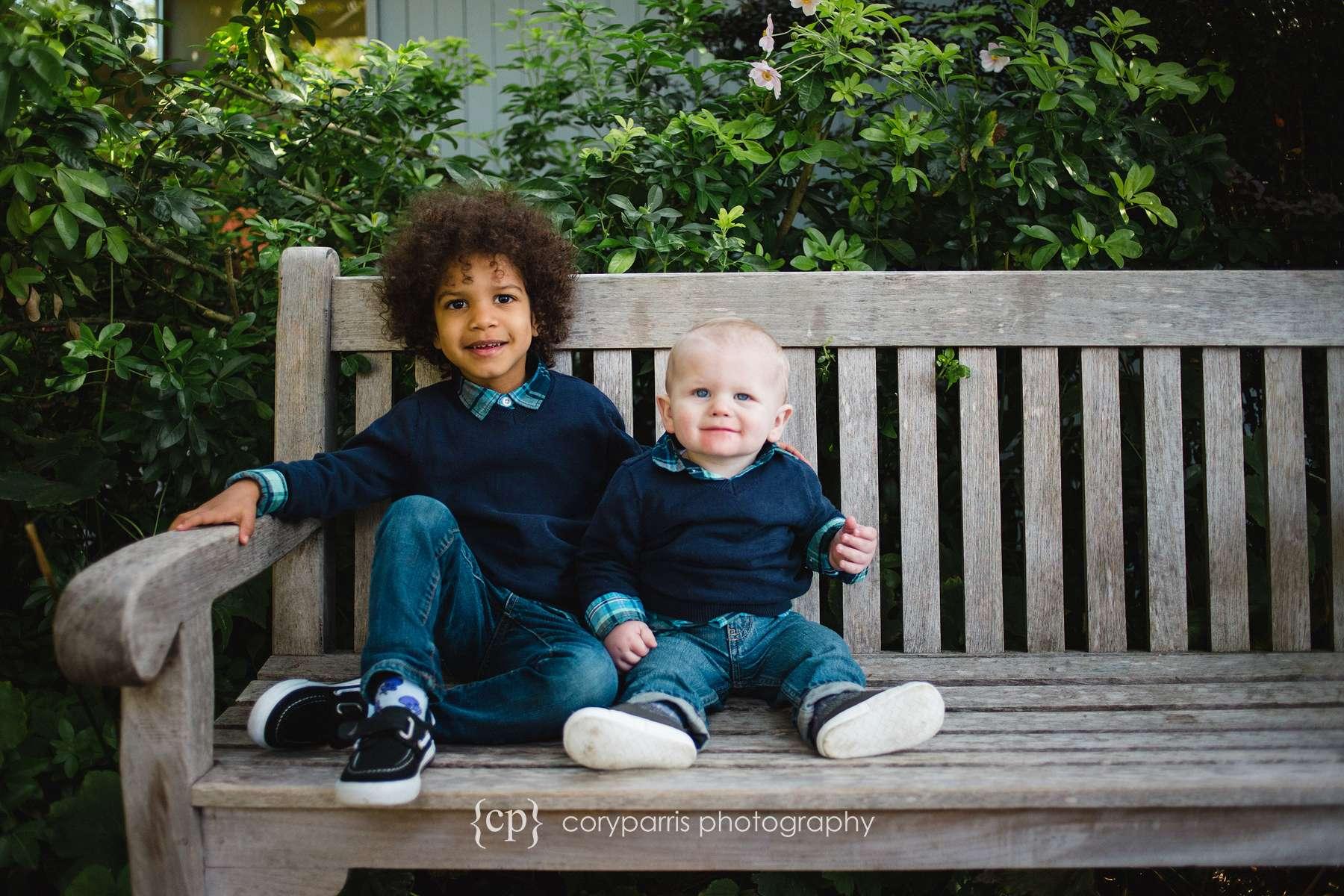 cute kids portraits in bellevue