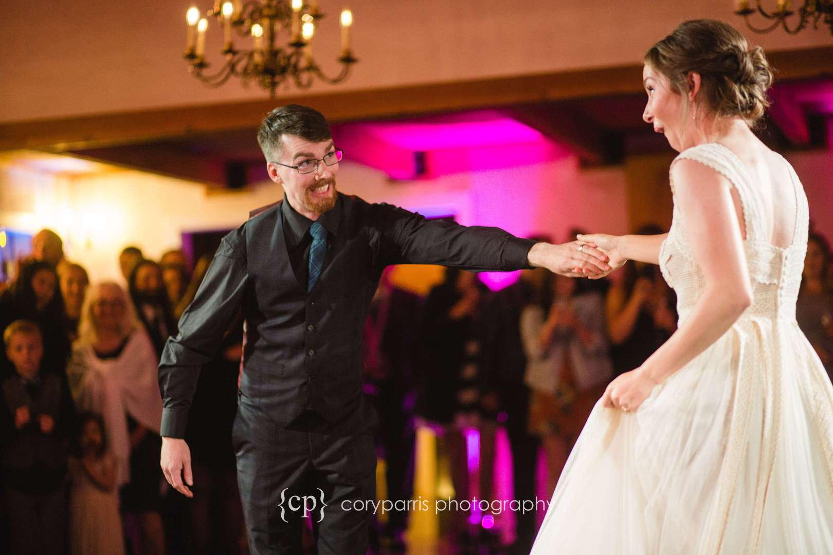 DeLille Cellars Chateau first dance