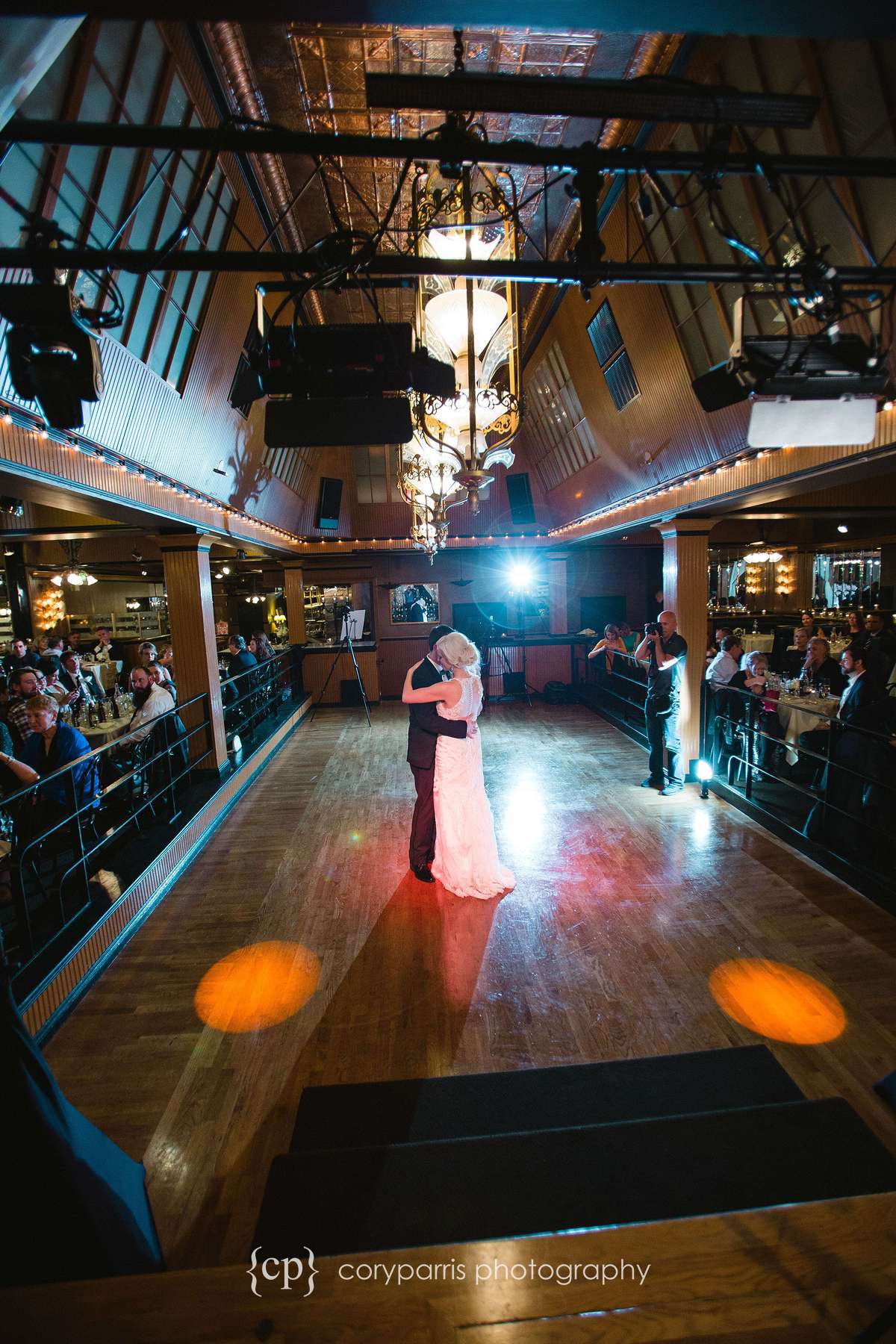 First dance at the Lake Union Cafe in Seattle