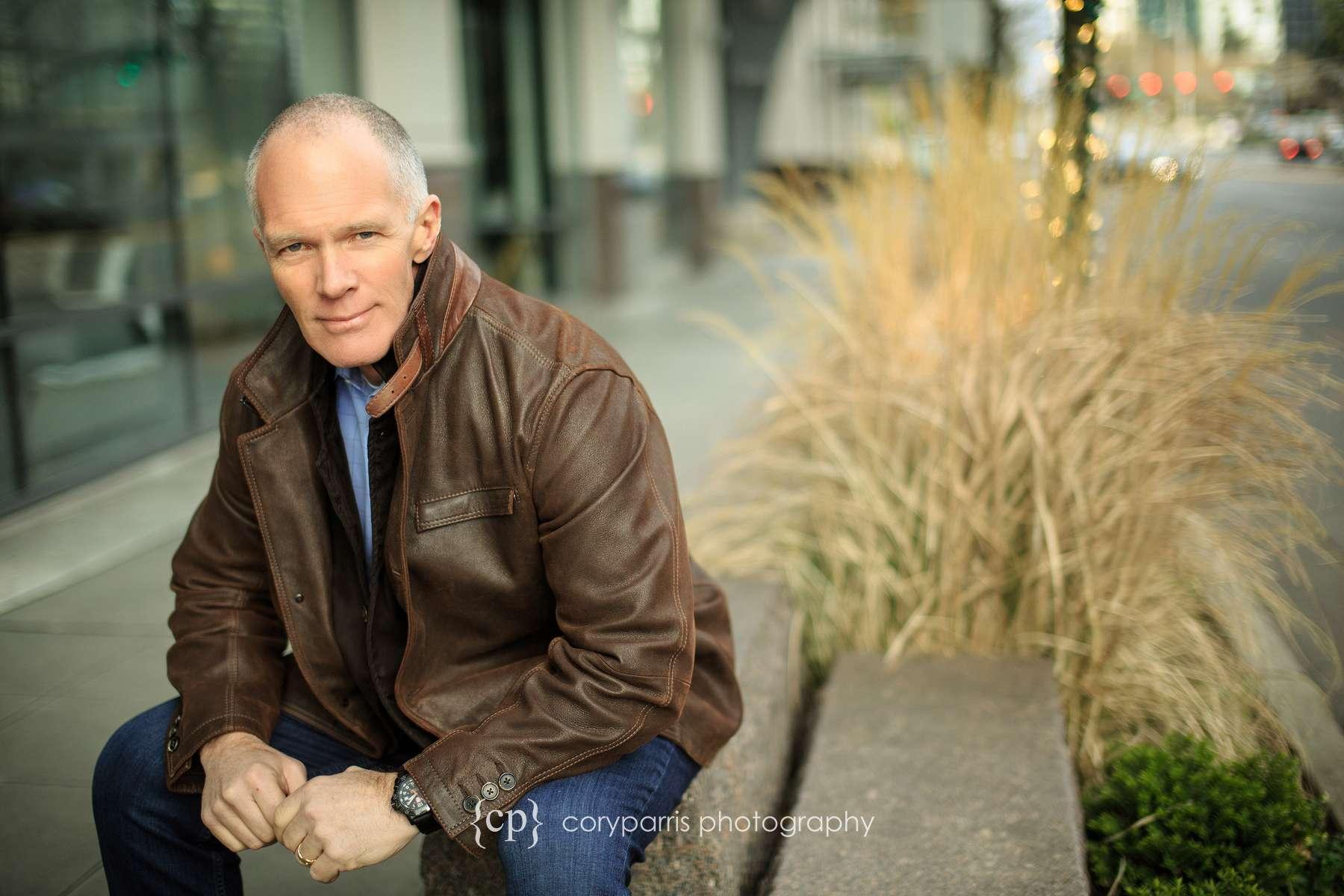 Business portrait in downtown Bellevue