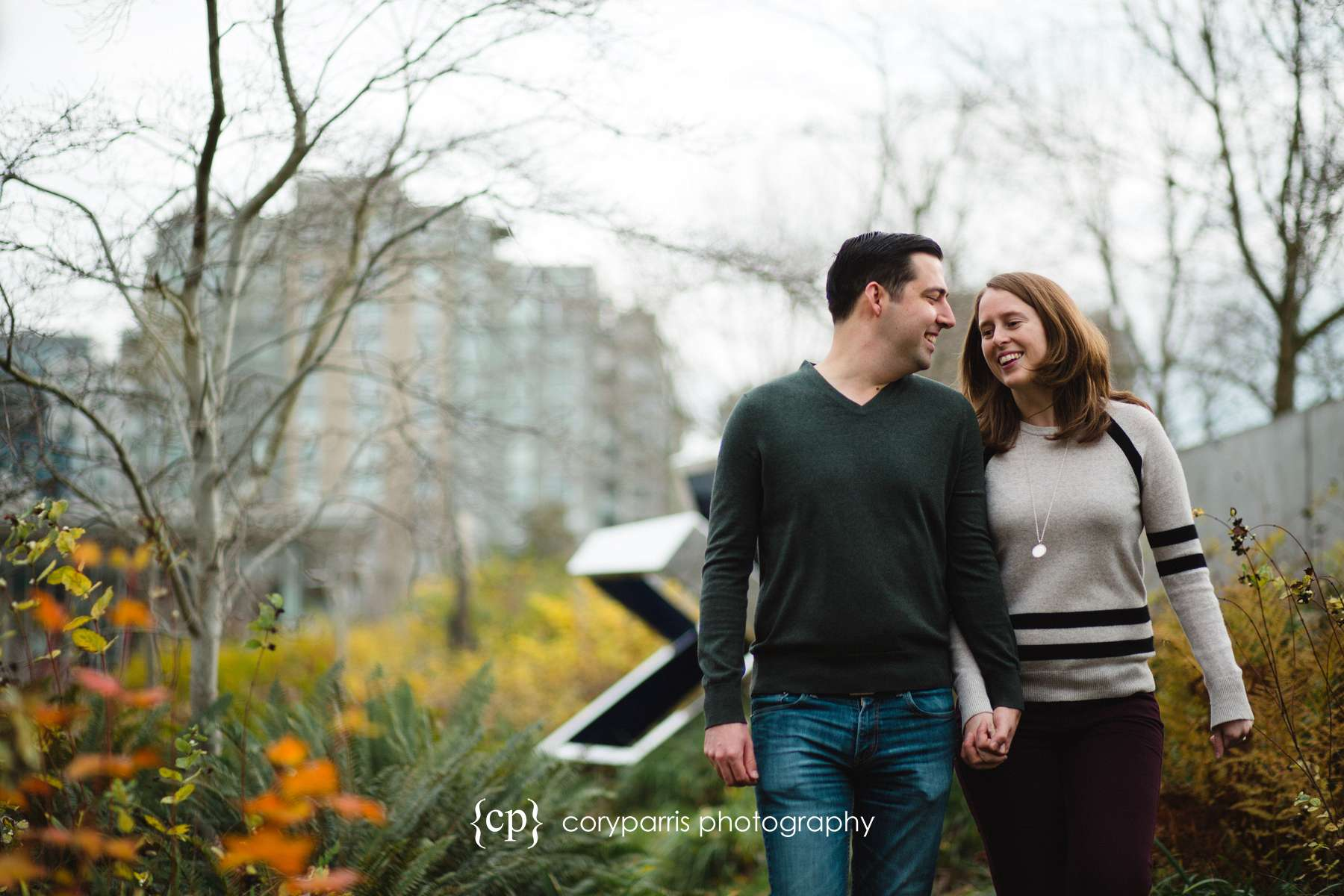 OSP engagement portraits in Seattle